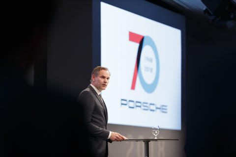 """""""Porsche will always be Porsche – the leading brand for exclusive, sporty mobility"""", reinforces Blume."""