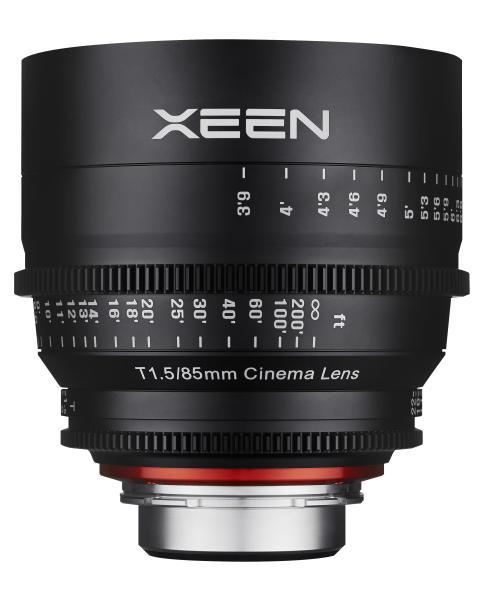 XEEN 85mm T1,5 fra siden 2