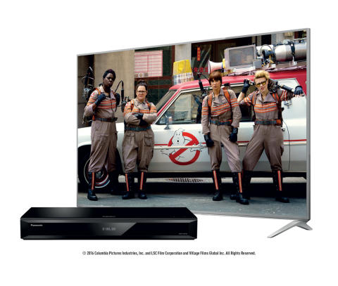 Purchase a Panasonic 4K Blu-Ray Player  and receive the new Ghostbusters movie ahead of its release date to enjoy the magic of cinema at home