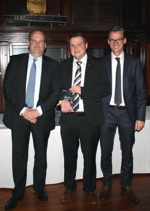 Conrad får DISTO™ Platinum Award från Leica Geosystems för andra året i rad