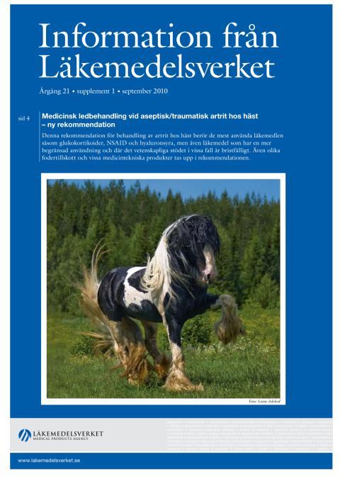 Information från Läkemedelsverket supplement #1 2010