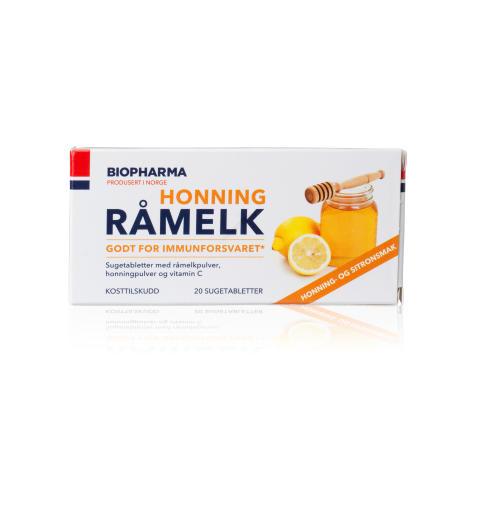 Biopharma Råmelk Honning