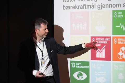 Ruters frokostmøte om FNs bærekraftmål