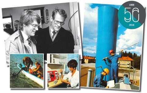 IVL Svenska Miljöinstitutet fyller 50 år