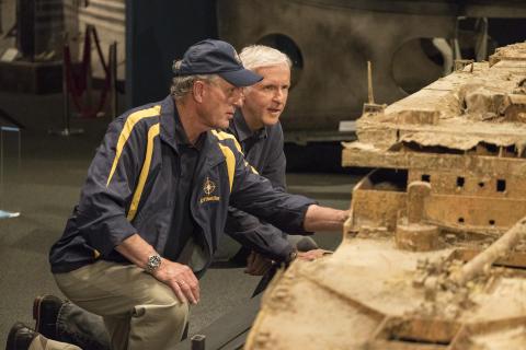 National Geographic og James Cameron markerer 20 års-jubilæum for storfilmen Titanic
