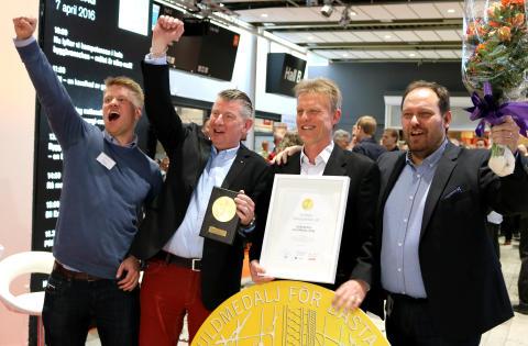 Vinnare av Nordbyggs guldmedalj 2016