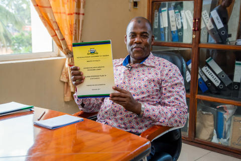 Mr Abdullah S. Ali Director of the Zanzibar Malaria Elimination Programme (ZAMEP)