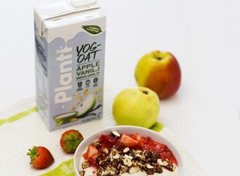 Vegansk äppelpaj till frukost?