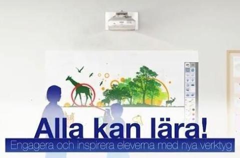 Alla kan lära – inspirationsfilmer för interaktiv undervisning i klassrummen