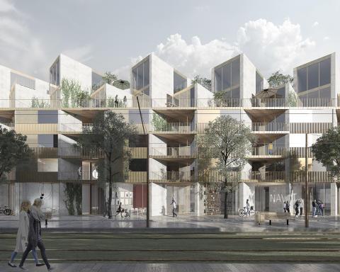 Arkitema ritar nytt kvarter i Lund