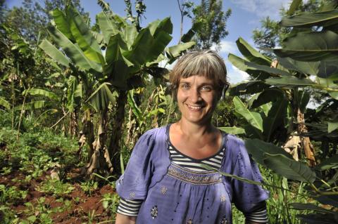 Åsa Slobodnik i Kirwara, Kenya