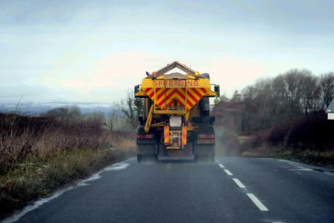 Moray's road treatment schedule for Friday afternoon and tomorrow morning is here: