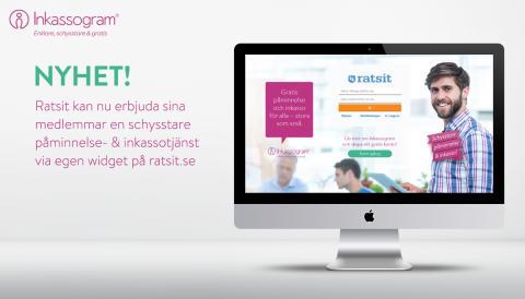 Inkassogram inleder partnersamarbete med ratsit.se