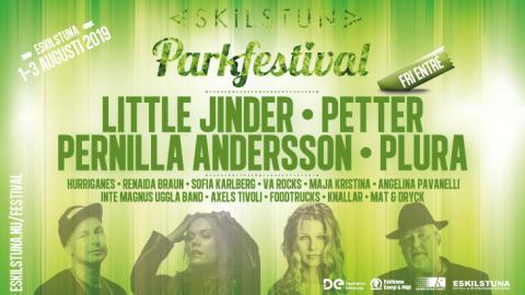 Artistlistan för Eskilstuna Parkfestival