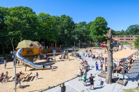 Aktivitetsparken i Säteriet i Mölnlycke - ett projekt av allmännyttiga Förbo AB