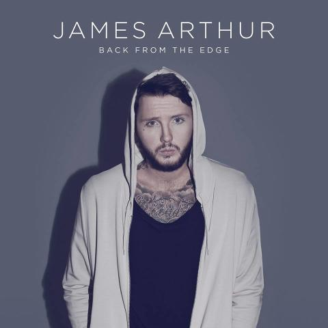 Back from the edge - cover James Arthur