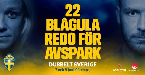 Dubbelt Sverige och Ullevi 60 år!