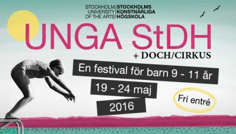 Unga StDH, gratisfestival för barn 9-11 år