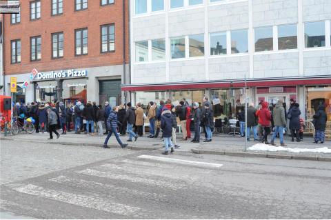 Rekord när Domino's Pizza invigde i Malmö och Lund