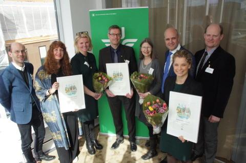Årets vinnare av SJs hållbarhetspris