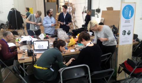 Workshop om robotar på Mars, Smartgeometry 2016