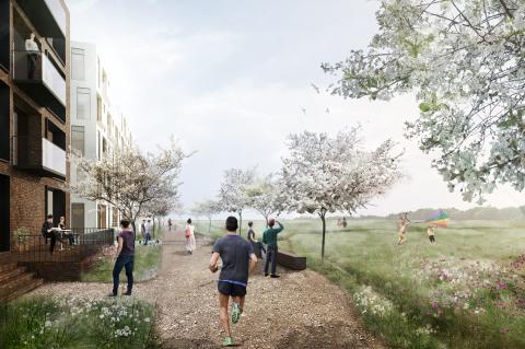 Arkitema Architects designer byrum i Egedal