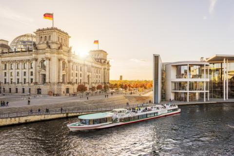 Berlin, Regierungsviertel Spree