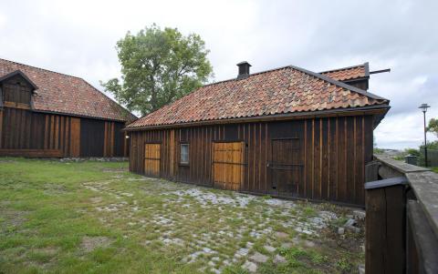 Paschens malmgård - stall och vagnshus