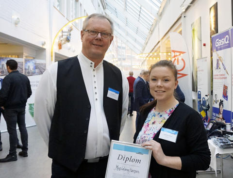 Competens i Ystad har utbildat Sveriges bästa svetselev