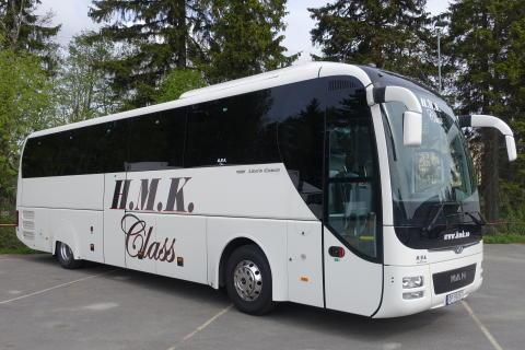 MAN Lions Coach til H.M. Kristiansens Automobilbyrå AS