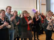 Invigning av Lidmanska gymnasiet i Västerås
