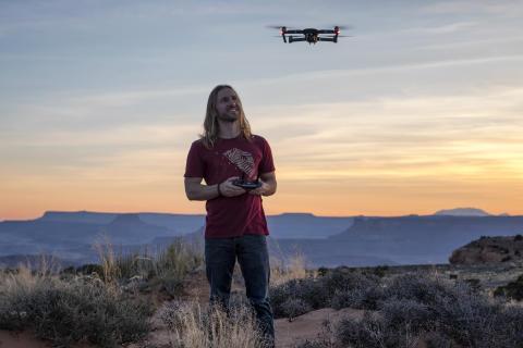 Elia Locardi-Flying Mavic Pro in Utah