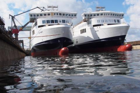 Scandlines' nye skibe tilbage i vandet