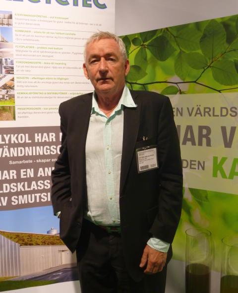 Finalist Återvinningsgalan 2014 Recyctec Roland Magnusson