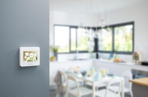 Smarta hemsystemet Wiser uppmärksammat på en av världens största elektronikmässor