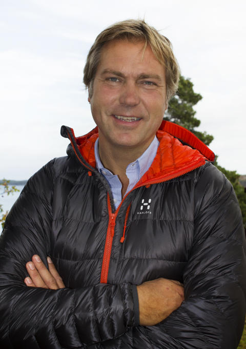 Peter Fabrin, CEO for Haglöfs