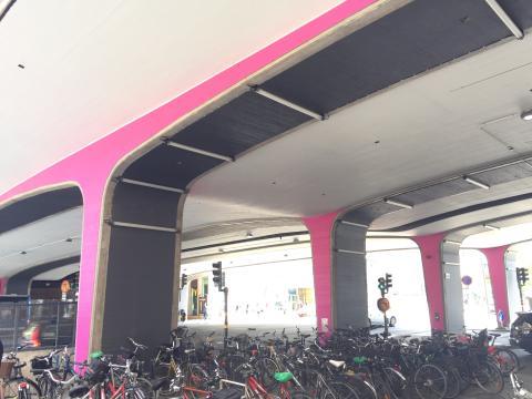Ny färg och belysning på Vasagatan genom samverkan