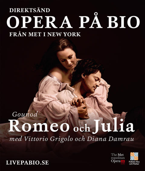 Romeo och Julia - direktsänd opera på bio i Lindesberg