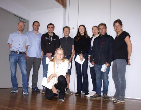 Kristiane Øien Markestad fra Ener tegnet bolig med høy miljøprofil, og vant