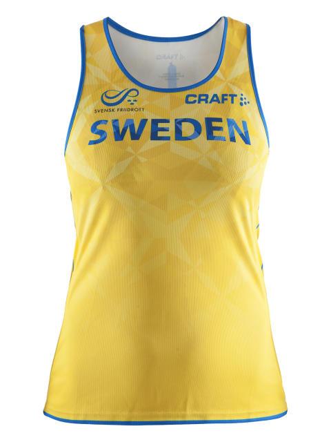Craft - Swedish Athletics national team - Singlet front