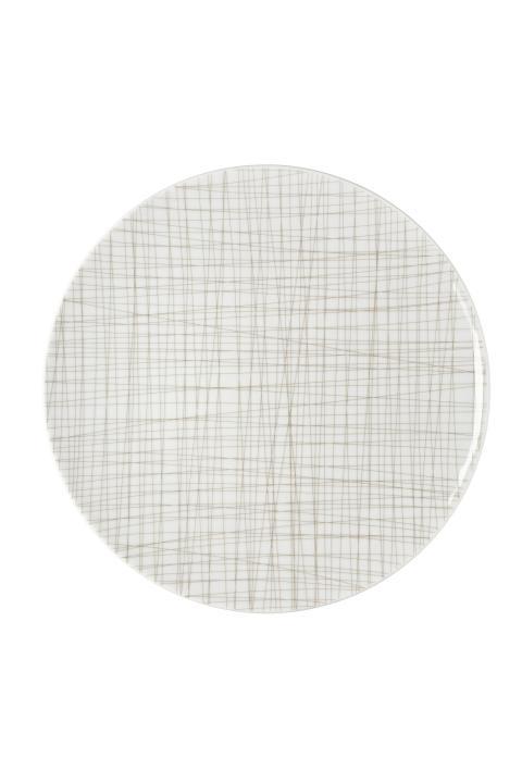 R_Mesh_Line Walnut_Plate 30 cm flat