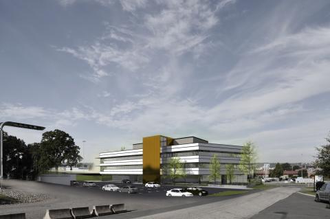 Trafikverket flyttar in i nytt kontorshus på A6-området