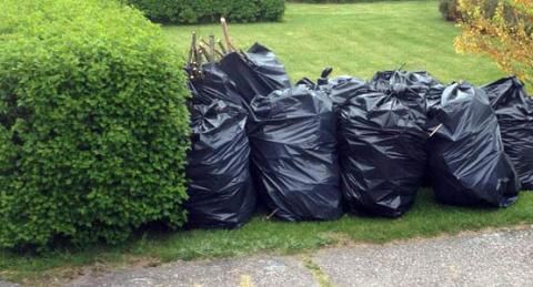 Rekord för trädgårdsavfall