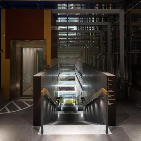 Kungliga Biblioteket Annexet, vinnare av Svenska Ljuspriset 2014.