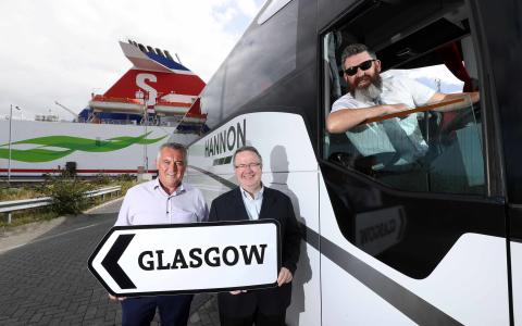 Coach operator reveals plans to expand Glasgow Express service across NI