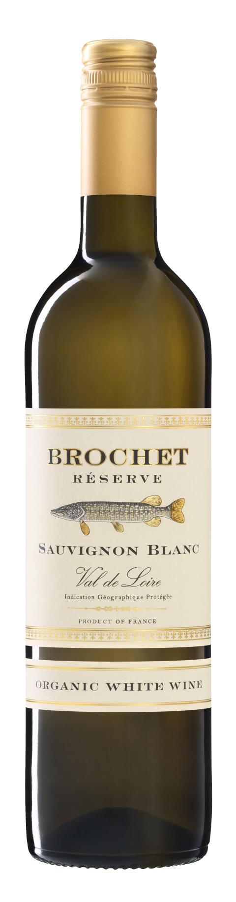 """Ekologiska Brochet Réserve Sauvignon Blanc - """"gäddvinet de luxe"""" i samtliga Systembolagsbutiker"""