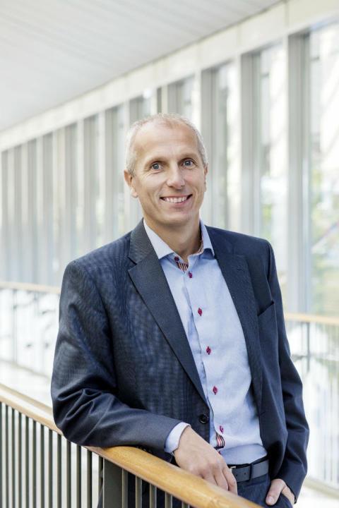 Henrik Edman, affärschef på Svenska Mässan. Foto: Emelie Asplund.