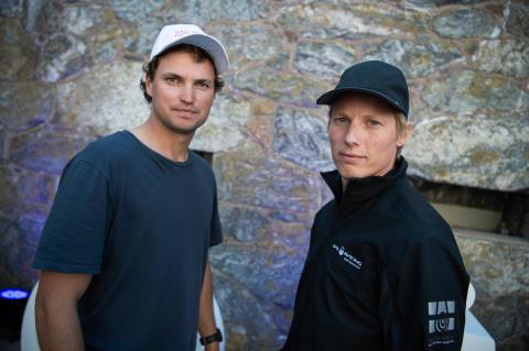 Sam Gilmour och Nicklas Dackhammar.