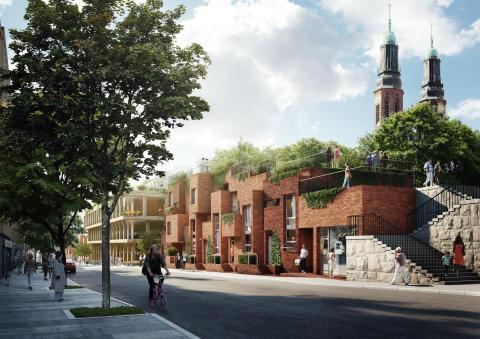 Hornsbruksgatan (illustration), Veidekke och Utopia Arkitekter