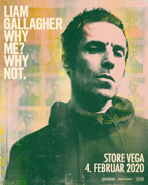 Legendariske Liam Gallagher kommer til Store VEGA til februar.